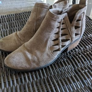 Michael Kors Suede Ankle Bootie